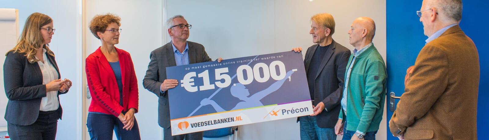 Précon doneert online training aan Voedselbanken Nederland