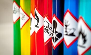 Chemische producten- label compliance