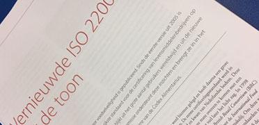 Kennisdag ISO 22000:2018