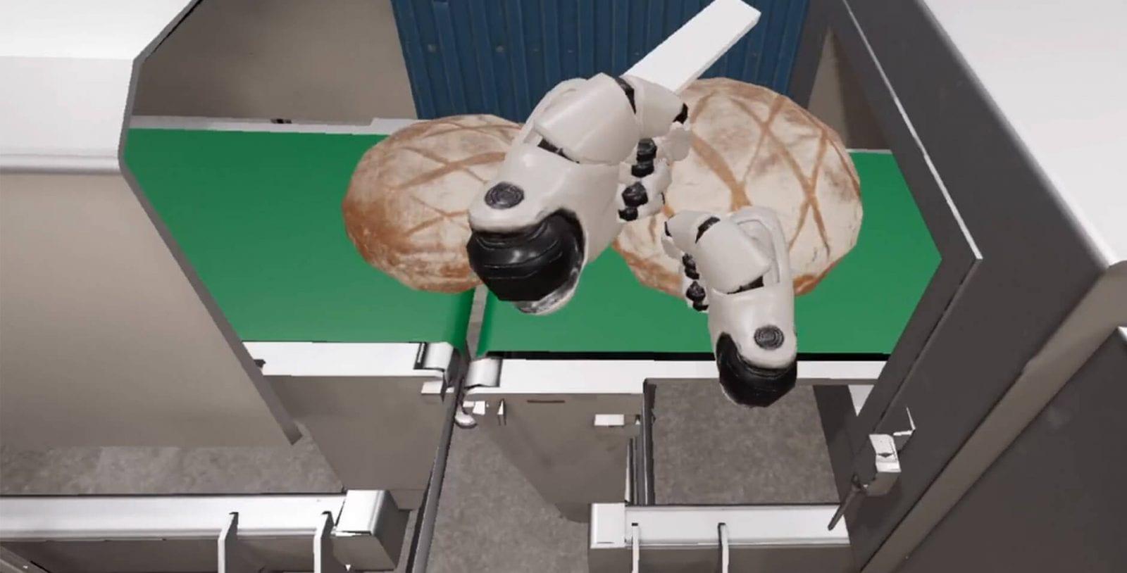 Virtual reality voedingsindustrie